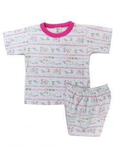 Pijama Curto Infantil Menina com Coelhinha - Charmy Eye