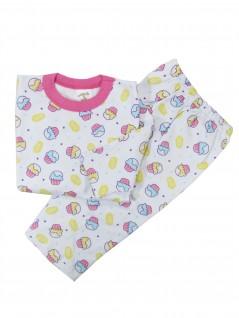 Pijama Longo Bebê Moletinho Doces - Charmy Eye