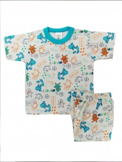Pijama Curto Infantil Menino Monster - Charmy Eye
