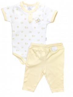 Conjunto de Body Unissex e Calça Pintinho Amarelo - Piu Piu