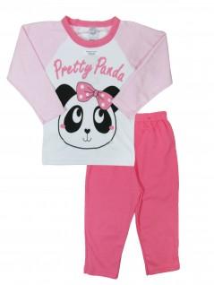 Pijama Infantil Menina Pretty Panda - Club zzz