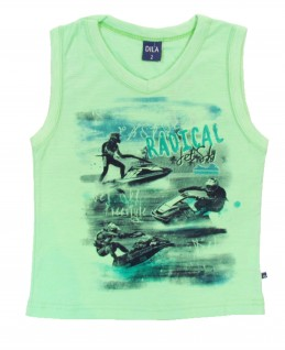 Camiseta Regata Infantil Radical Jet Sky - Dila