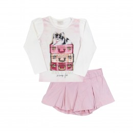 Conjunto Infantil Feminino Ready To Travel - Quimby
