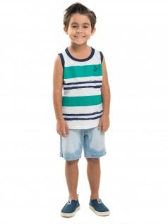 Camiseta infantil Regata Ancora - Minore