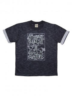 Camiseta Infantil Rock in Roar - Have Fun