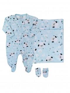 Saída de Maternidade Ovelhinhas - Piu Blu