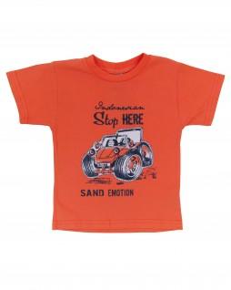 Camiseta Infantil Sand Emotion - Caramelo