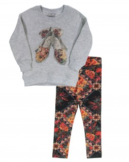 Conjunto Infantil Sapatilha Estampada - Up baby