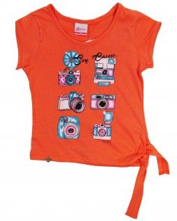 Blusa Infantil Say Cheese - Alenice