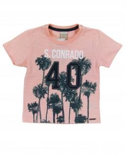 Camiseta Infantil em Malha Flamê S. Conrado - Boca Grande