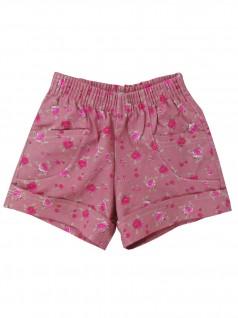 Shorts Infantil Rosas - Charmy Eye