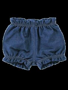 Shorts em Malha Jeans Menina - Piu Blu