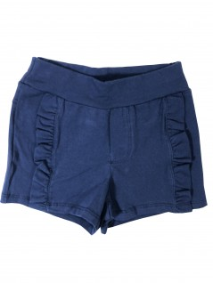 Shorts Infantil em Cotton com Babados - Have Fun