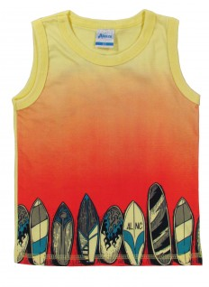 Camiseta Infantil Regata Surf na Praia - Alenice