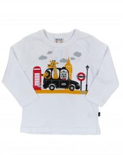 Camiseta Infantil Taxi London - Boca Grande