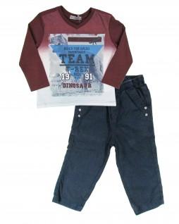 Conjunto Infantil T-Rex - Turma da Malha