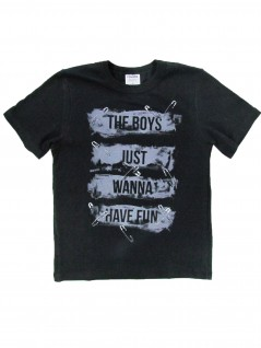 Camiseta Infantil Manga Curta The Boys - Rovitex