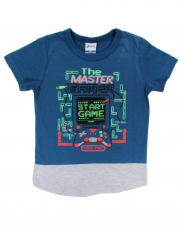 Camiseta Infantil The Master Game - Alenice