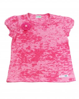 Blusa Infantil com Estampa TieDye - Natural Club
