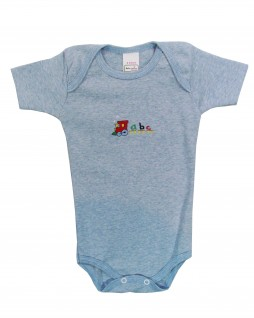Body Trenzinho ABC - Baby Fashion