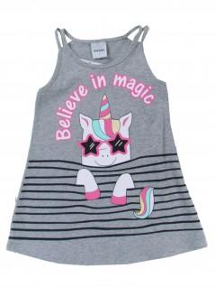 Vestido Bebê Regata Believe in Magic - Rovitex