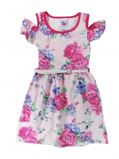 Vestido Infantil Cotton Estampado - Big Day