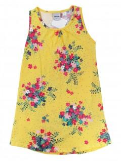 Vestido Infantil Ramos de Flores  - Rovitex