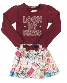 Vestido Infantil Look My Dress - Quimby
