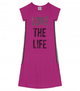 Vestido Infantil Midi Love the Live - Rovitex