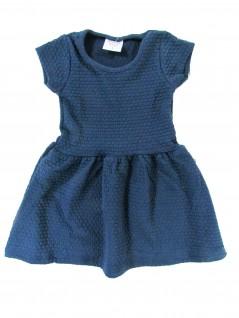Vestido Infantil em Malha Trabalhada - Rovitex