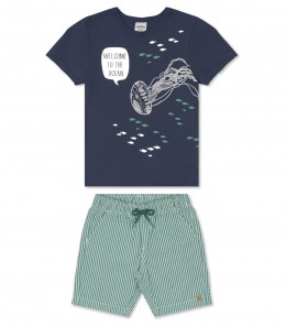 Conjunto Infantil Welcome to the Ocean - Rovitex