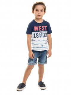 Camiseta Infantil West Coast - Minore